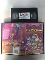 Zio Paperone alla ricerca della lampada perduta - VHS Walt Disney