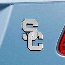 "Southern California Chrome Metal Car Auto 3D Heavy Duty Emblem 3""x3.2"""