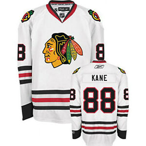 Reebok NHL Youth Chicago Blackhawks Patrick Kane #88 Premier Away Jersey