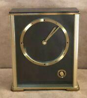 John Deere Employee Service Award Clock w Diamond Made in Germany desk mantle
