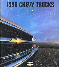 1998 CHEVY TRUCK Brochure / Catalog: C/K PickUp,TAHOE,S-10,BLAZER,VAN,TRACKER,