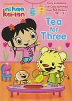 Tea for Three (Ni Hao, Kai-lan) (Full-Color Activity Book with Stickers) (Softco