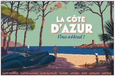 Laurent Durieux - Delahaye Cote D'Azur - MONDO artist limited screen print!