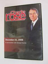 Charlie Rose with George Clooney (December 21, 2006)  DVD  2006