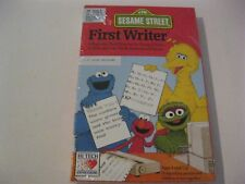 """Sesame Street First Writer sealed PC game 3.5"""" disks Hi Tech Expressions"""
