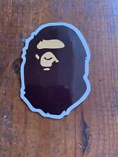 a bathing ape sticker  bape skate skateboard cell laptop bumper decal