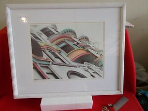 """1990 C. MARTIN SIGNED & NUMBERED PEN and INK HAND-COLORED SKETCH, """"PAINTED LADIE"""
