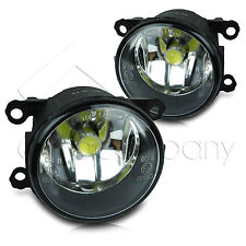 2014 Ford Fiesta Replacements Fog Lights Front Driving Lamps w/COB Bulbs- Clear