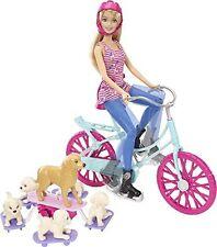 Mattel Barbie CLD94 - Das große Hundeabenteuer  Fahrradausflug mit NEU #L1-9295