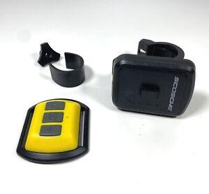 Scosche RHYTHM Bluetooth Heart Rate Monitor, Yellow/Black