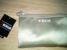 Morgan make up bag gold BNWT £4.99