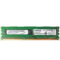 Micron 8GB 2Rx8 PC3L-10600E DDR3-1333 MHz 240pin 1.35V ECC Unbuffered UDIMM RAM