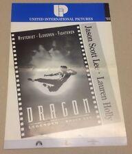"""Dragon The Bruce Lee Story"" Jason Scott Lee 1993 Danish Movie Press Release Kit"