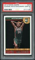 2013-14 Giannis Antetokounmpo Panini NBA Hoops #275 Rookie PSA 10 RC Gem Mint