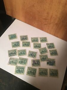 Stamps 22 British Guiana 2 cent Stamps