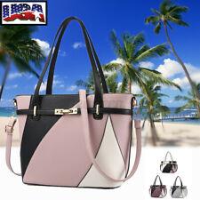 Women Large Handbag Leather Shoulder Bag Lady Messenger Crossbody Satchel Purse