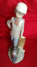 Nao by lladro - Boy with dog