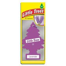 4 X Piccolo Magic Tree Deodorante auto LAVANDA Freshner 2D
