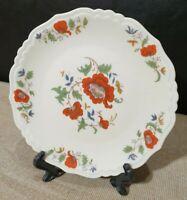 3 assiettes plates en porcelaine de limoges par jammet seignolles décor Contan