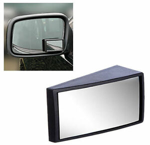 2 x SELFADHESIVE  WIDE ANGLE CAR VAN BLIND SPOT WING MIRROR WIDER VISION