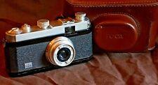 FOCA Standard 1953 PF1b, 1 étoile peinte, boîtier laqué noir, Oplar 3,5/3,5 cm.