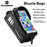 "RockBros Bicycle Front Tube Frame Bag Waterproof MTB Bike Bag 6.0"" Touch Screen"