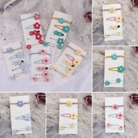 Baby Hair Clips Girls Kids Flowers Hair Clip Hairpin Cute Clips Set Accessory