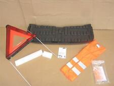 OEM Smart Car ForTwo Trunk Foam Rear Storage Box, Hazard Triangle & Safety Vest