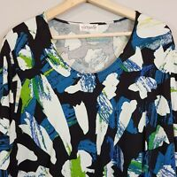 [ TS TAKING SHAPE ] Virtuelle Womens Print Top | Size S or AU 16 / US 12