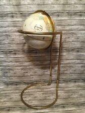 Globemaster Replogle Globes Inc LeRoy Tolman 12 Gold Stand Floor Globe
