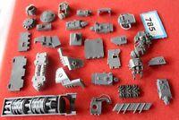 Games Workshop Warhammer 40k Scenery Mixed Bits Job Lot Army Box Tank Bits G25