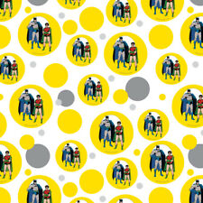 Batman and Robin Premium Gift Wrap Wrapping Paper Roll