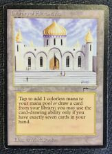 Magic the Gathering - Library of Alexandria - Arabian Nights MTG played