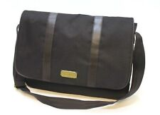 Aramis Mens Dark Brown Messenger / Laptop / Shoulder Bag