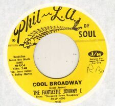 "FANTASTIC JOHNNY C ""HITCH IT TO THE HORSE / COOL BROADWAY"" SOUL JERK 60'S SP"