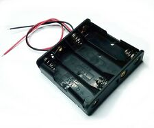 Battery holder portapilas porta pilas plano 4xAA AA LR06
