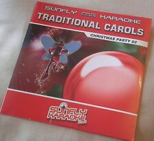 Karaoke cdg Xmas disc,SFTC002,Sunfly Traditional Carols 02,see Descript,15 trks