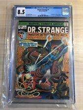 DOCTOR STRANGE #1 CGC 8.5 1st SILVER DAGGER 1974  Bronze Age Key