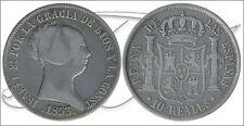 España - Monedas Isabel II- Año: 1853 - numero 00448 - MBC - 10 Reales 1853 Barc