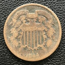 1864 Two Cent Piece 2c Better Grade #14468
