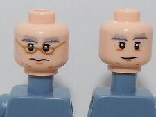 Lego Minifigure Head Harry Potter Dumbledore H38