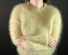 """42-44"""" EXTREMELY FURRY 80% Mohair Sweater! Fuzzy & Fluffy! EXTRA Nice! Soft!"""