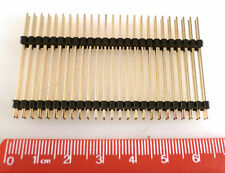Pin Header Plug 2.54mm Pitch DIL 2 Insulator Strips 50 Way MBD023D