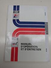 1995 OMC Operation and Maintenance Manual 212561