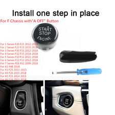 engine start stop button switch cover for bmw f chassis series f20 f22 f30  f10