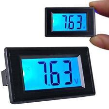 DC 3.5V-30V LCD Digital Voltage Volt Meter Voltmeter Panel Blue Backlight WR