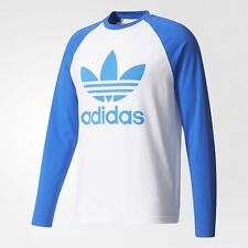 5eed4d7c7e93 NEW MEN'S ADIDAS ORIGINALS TREFOIL LONG SLEEVE TEE SHIRT ~SIZE XL #BR2025