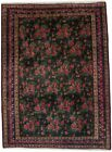 Tribal Floral Design Semi Antique 6X8 Handmade Vintage Rug Oriental Decor Carpet
