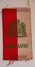 New listing Vintage woven tobacco cigarette silk - Egyptienne Luxury national arm: Denmark