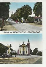 MONTECCHIO PRECALCINO STUPENDA CARTOLINA PRIMO COLORE